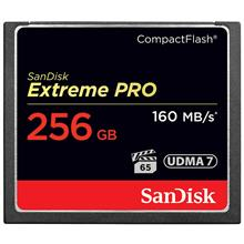 SanDisk Extreme Pro CompactFlash 1067X 160MBps 256GB Memory Card